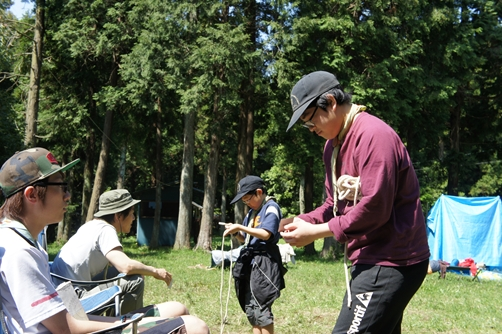 GWキャンプ3日目