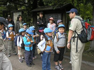 鎌倉でハイキングをしました
