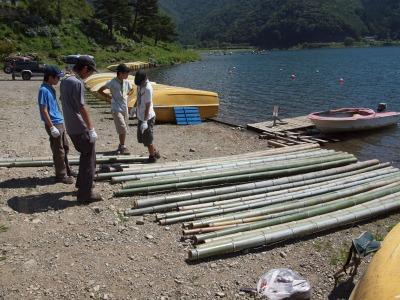 竹筏プロジェクト2