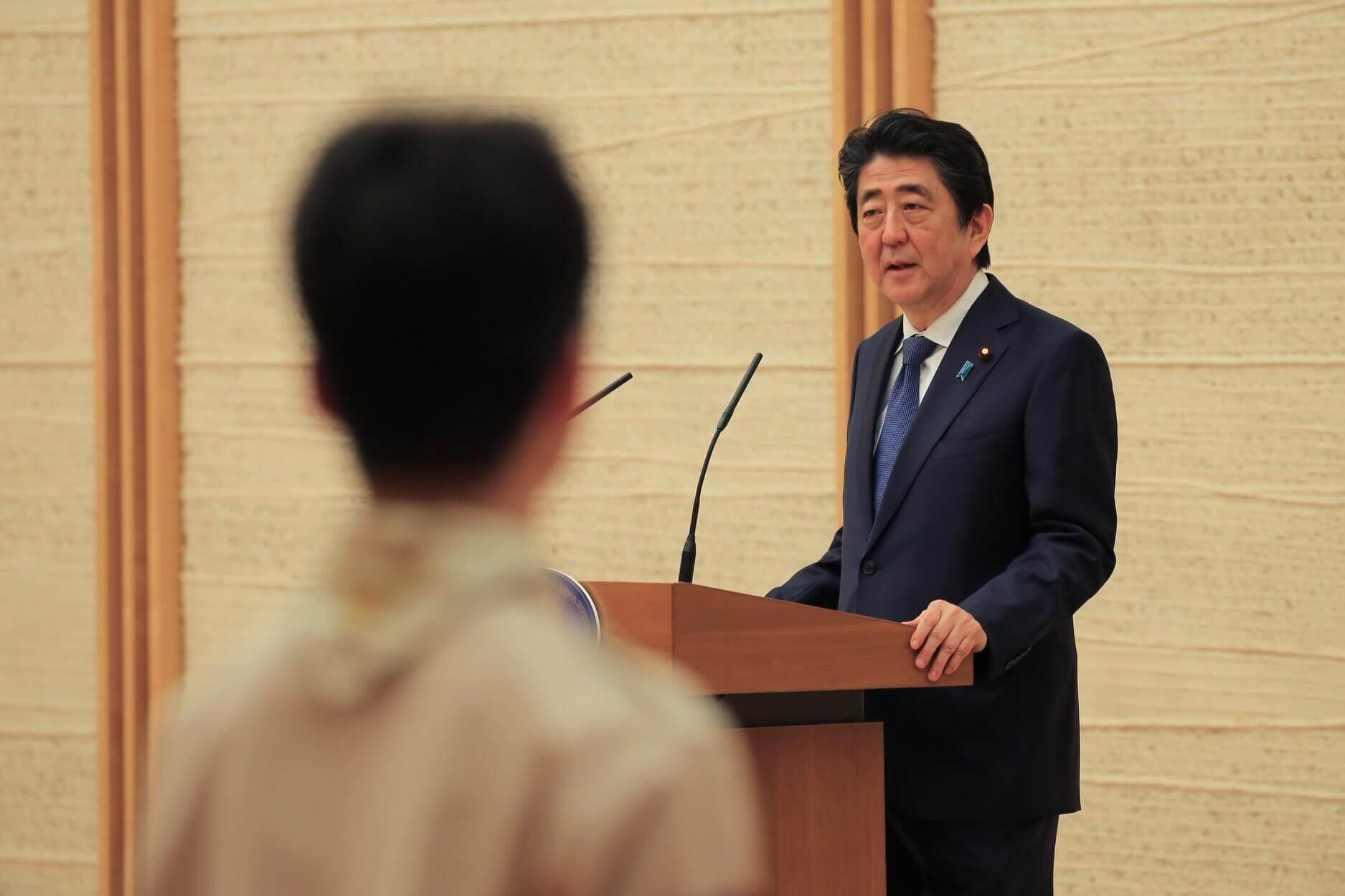 首相官邸へ表敬訪問