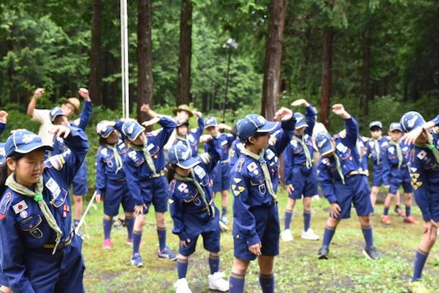 夏キャンプ〜カブ山まつり(後編)