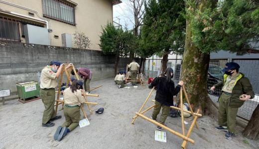 3/28 キャンプ×→野外工作隊集会!